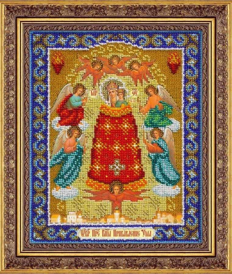 Б1042 Пр.Богородица Прибавление ума (Паутинка)