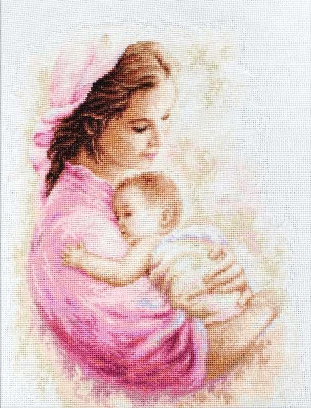 B536 Мать и дитя