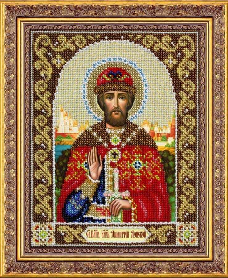Б1037 Св.Благов.князь Дмитрий Донской (Паутинка)