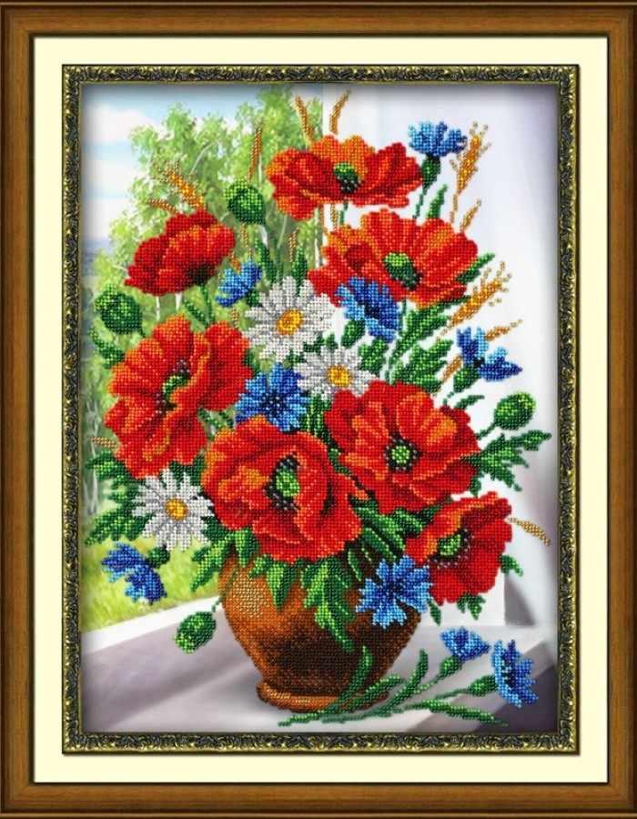 Б1235 Любимые цветы (Паутинка)