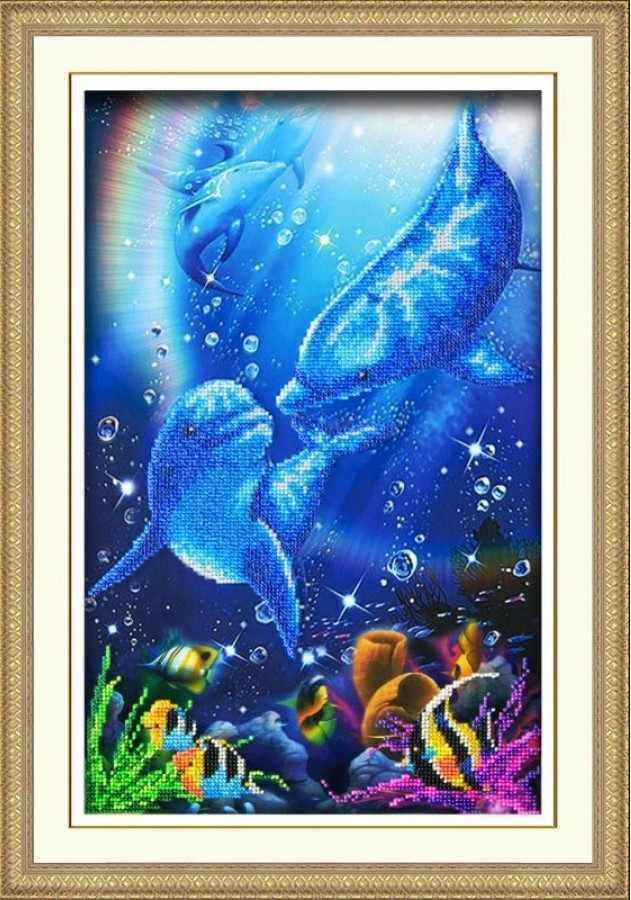 Б1422 Дельфины