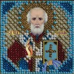 4010 Св.Николай Чудотворец - схема для вышивания (Вышивальная мозаика)