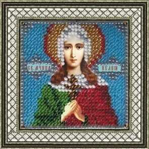 4065 Св.Муч.Иулия (Юлия) Карфагенская - схема для вышивания (Вышивальная мозаика)