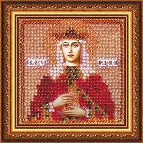 4052 Св.Муч.Людмила,кн.Чешская - схема для вышивания (Вышивальная мозаика)