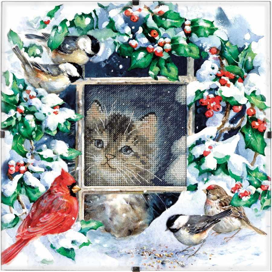 73504-DMS Winter Kitten