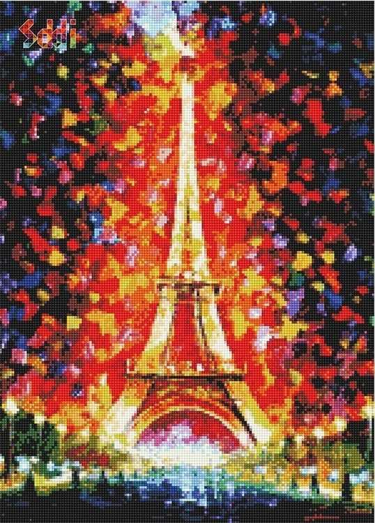 71063,52 Париж - мозаика Anya