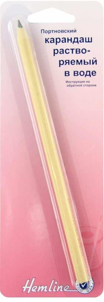 299.GREY Портновский карандаш, растворяемый в воде, серый, для светлых тканей