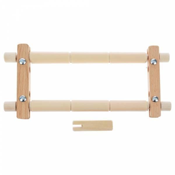 3015BOS Пяльцы - рамка деревянная c пластиковыми зажимами, 30х15см