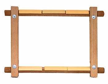 332-45 Пяльцы квадратные для гобелена бук 30 х 45 см