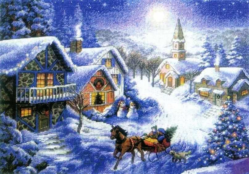 1386-14 Зимнее раздолье