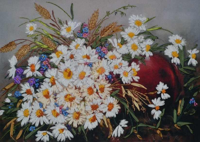 014-100 Полевые цветы