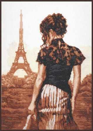 """11.002 """"Прогулка по Парижу"""" (Палитра)"""
