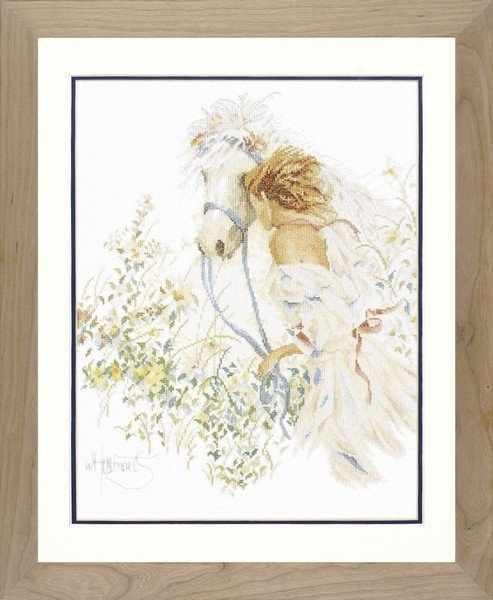 PN-0007952 Лошадь и цветы (Lanarte)