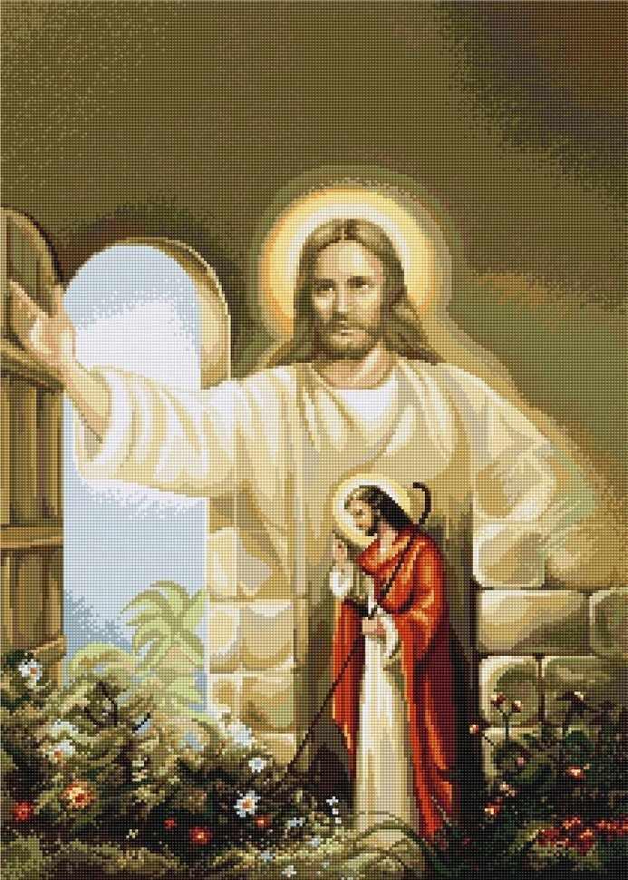B0411 Иисус стучит тихонько в дверь