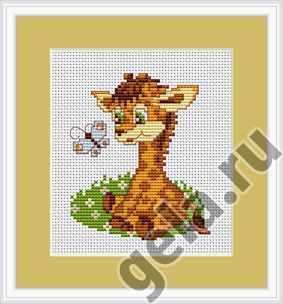 B044 Жираф