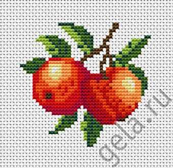 B028 Два персика