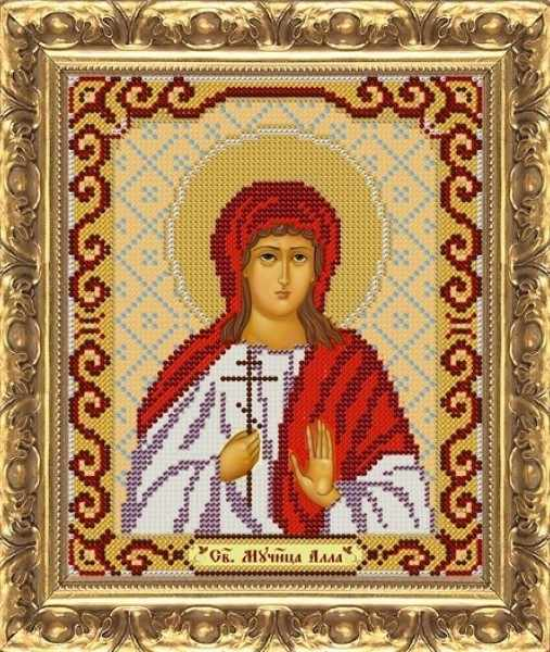 ИП-1101 Св.Мч. Алла - схема для вышивания (Велисса)