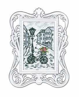 FA012 Велосипед с розами