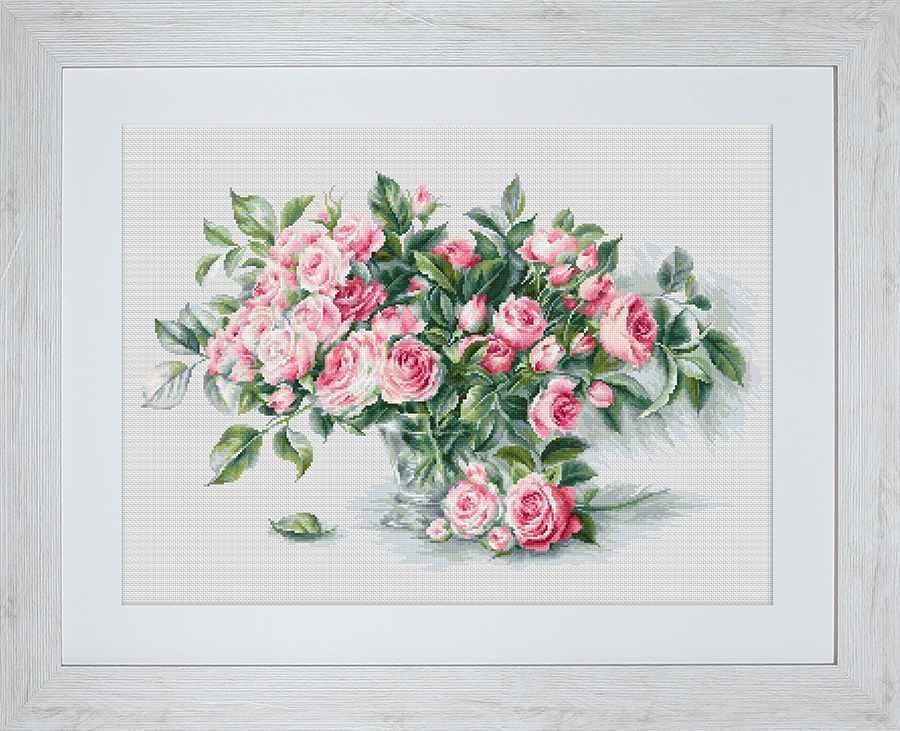 BL22866 Букет чайных роз