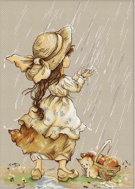 B1077 Летний дождь