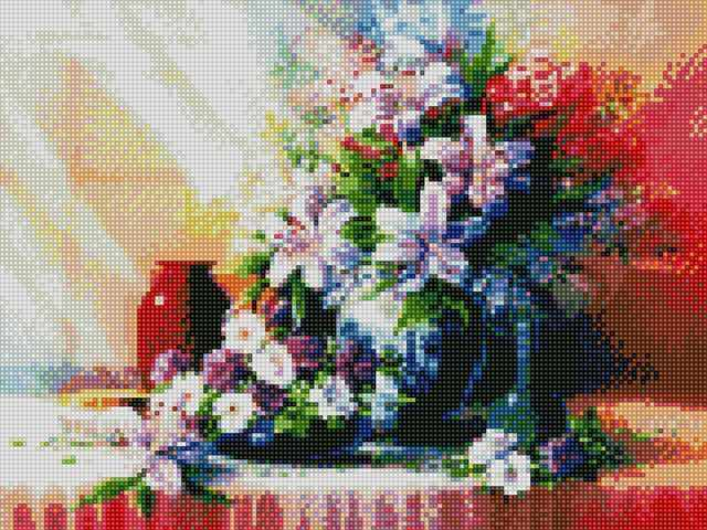 71002,42 Летний букет - мозаика Anya