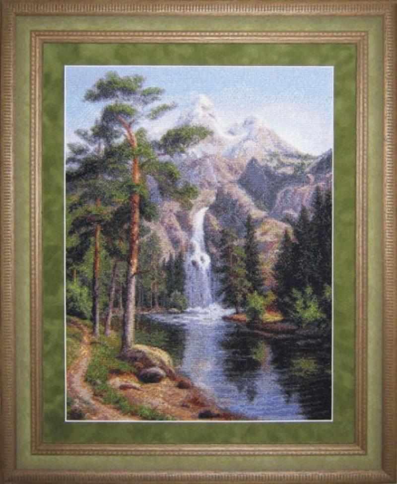 0601 Водопад - набор для вышивания (Юнона)