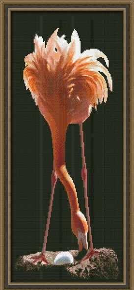 0121 Фламинго - набор для вышивания