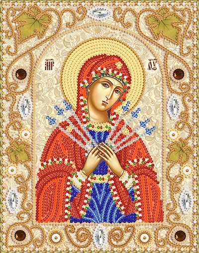 НИК-5310 Семистрельная Пресвятая Богородица (Марiчка)