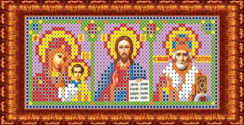 КБИ 6001 Триптих - схема для вышивания (Каролинка)