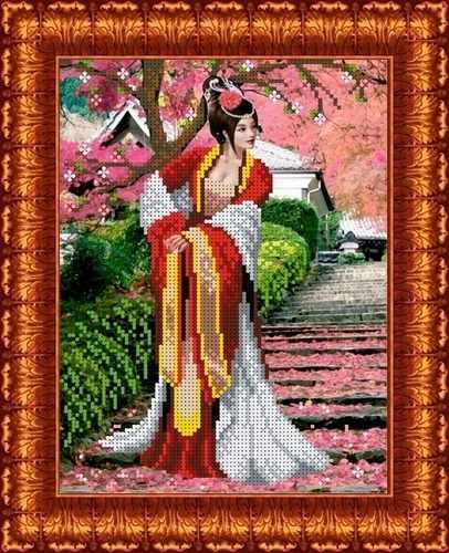 КБЛ 4010 Японский сад - схема для вышивания (Каролинка)