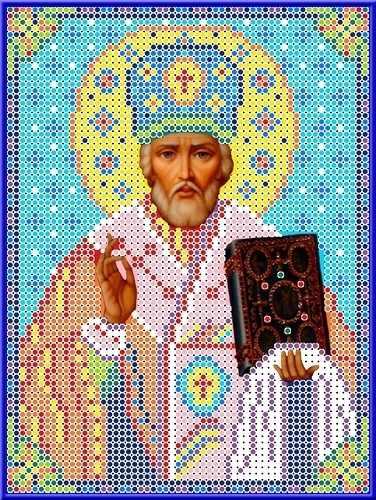 КБИ 5025 Святой Николай - схема для вышивания (Каролинка)