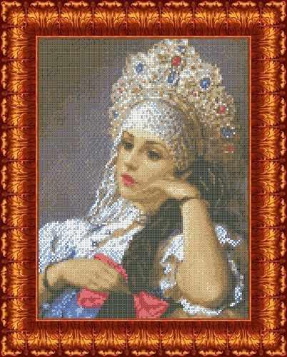 КБЛ 3025 Василиса - схема для вышивания (Каролинка)