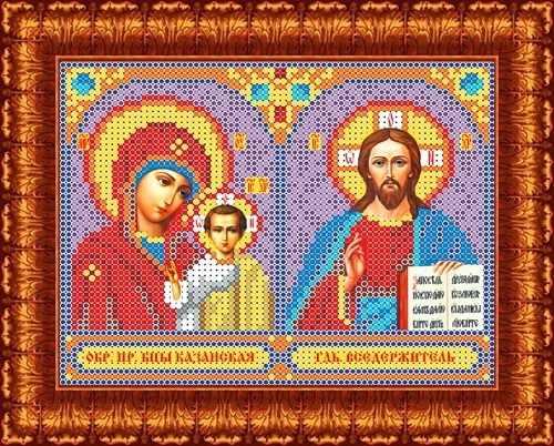 КБИ 5011 БМ Казанская и Господь Вседержитель - схема для вышивания (Каролинка)