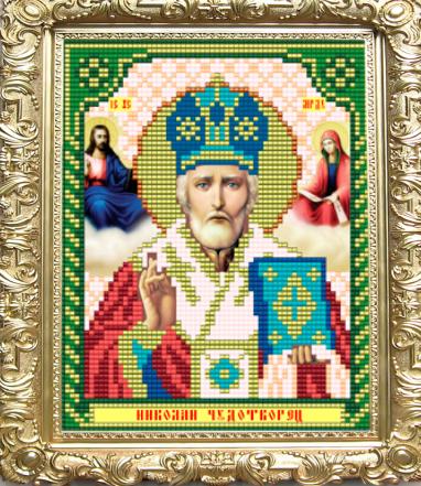 VIA5003 Николай Чудотворец - схема для вышивания (Art Solo)