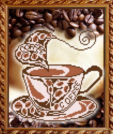 VKA4010 Ароматный кофе - схема для вышивания (Art Solo)