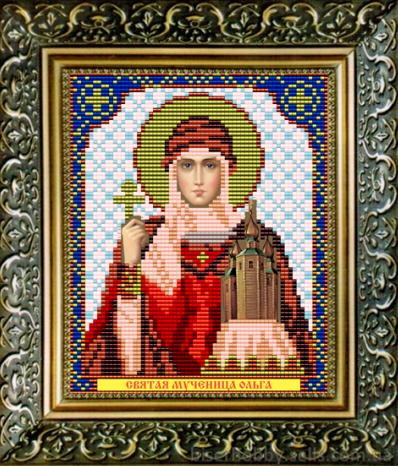 VIA5017 Св. Мученица Ольга - схема для вышивания (Art Solo)