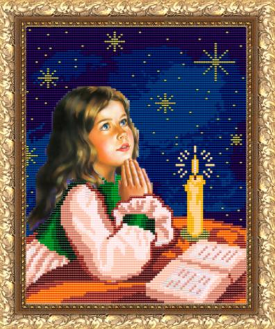 VKA4017 Молитва перед сном - схема для вышивания (Art Solo)