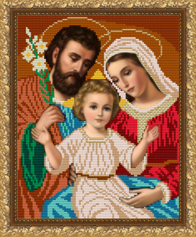 VKA4007 Святое Семейство - схема для вышивания (Art Solo)