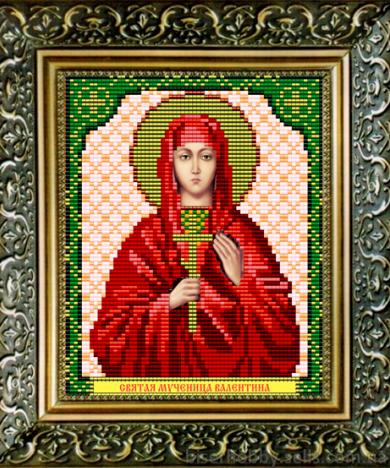 VIA5036 Св. Мученица Валентина - схема для вышивания (Art Solo)
