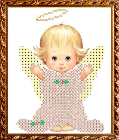 VKA5006 Ангелочек - схема для вышивания (Art Solo)