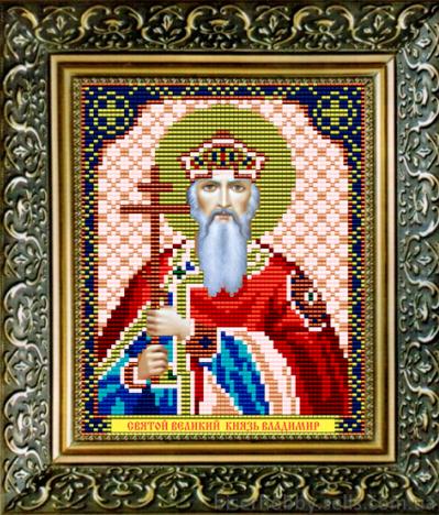 VIA5024 Св. Князь Владимир - схема для вышивания (Art Solo)