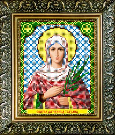 VIA5025 Св. Мученица Татьяна - схема для вышивания (Art Solo)