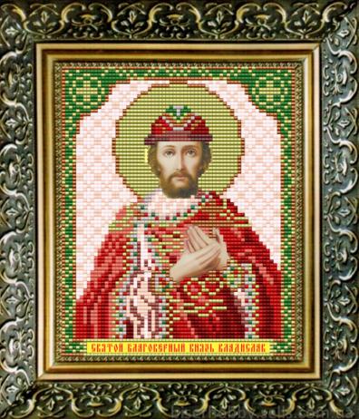 VIA5079 Владислав Сербский - схема для вышивания (Art Solo)