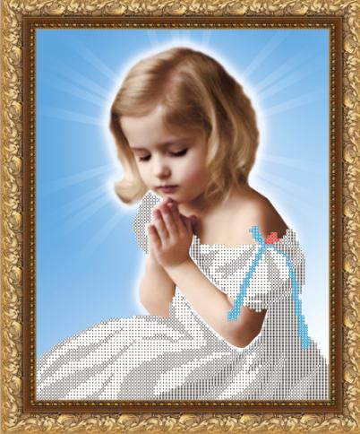 VKA4006 Молитва - схема для вышивания (Art Solo)