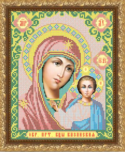 VIA4001 Казанская Божия Матерь - схема для вышивания (Art Solo)