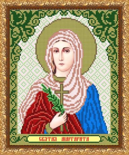 VIA4097 Св. Маргарита - схема для вышивания (Art Solo)