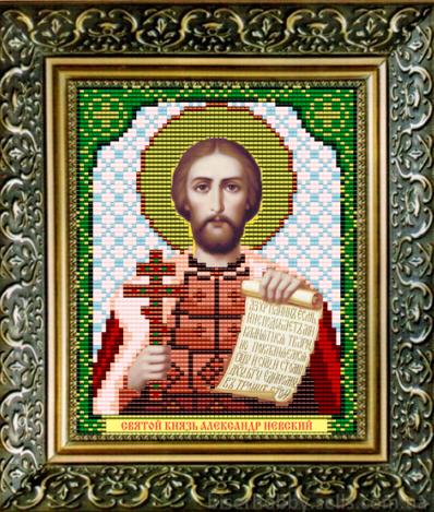 VIA5026 Св. Князь Александр Невский - схема для вышивания (Art Solo)