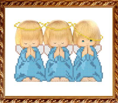 VKA5009 Три ангелка - схема для вышивания (Art Solo)