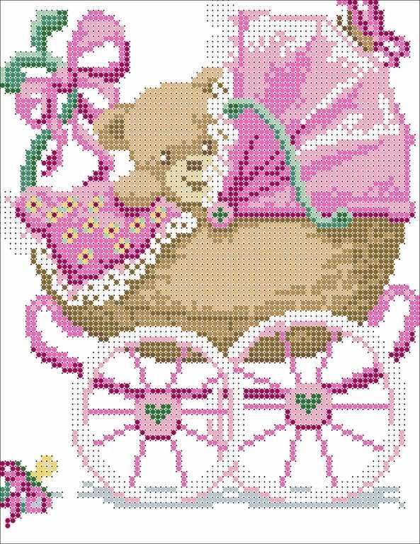 КМЧ-4335 Девочка родилась - схема для вышивания (Мастерица)