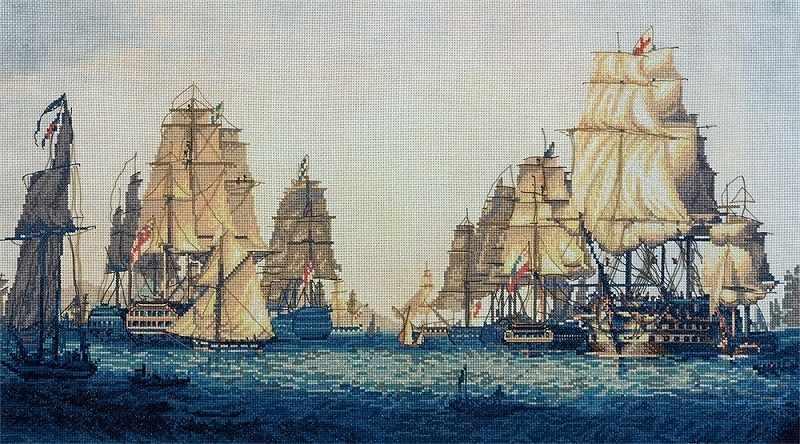 """КР-1624 """"Корабли в Алжире"""""""